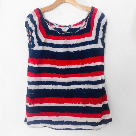 Vineyard Vines Tops Red White And Blue Striped Top Poshmark